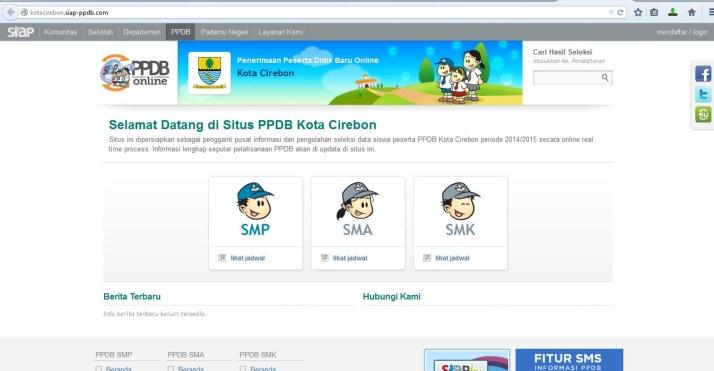 Ppdb Sman 1 Cirebon 2014 2015 Yandriana Inspiring Teacher